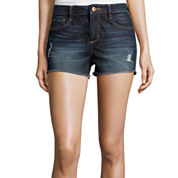 Arizona High-Rise Denim Shorts - Juniors