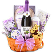 Alder Creek Relaxing Easter Lavender Basket Gift Set