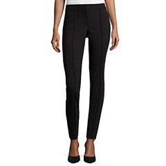 nicole by Nicole Miller® Slim-Fit Pintucked Ankle Pants