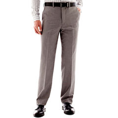 Men's JF J. Ferrar® End on End Flat-Front Straight-Leg Slim Fit Suit Pants