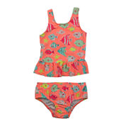 Carter's Pattern Rash Guard Set