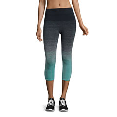 City Streets Knit Workout Capris