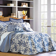 Toile Garden Bedspread & Accessories