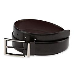 JF J. Ferrar® Reversible Leather Belt w/ 2-Tone Buckle