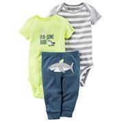 Carter's Bodysuit Set-Baby Boys