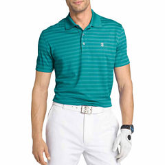 IZOD Golf Grid Short Sleeve Polo Shirt