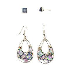 Arizona 4-pc. Multi Color Earring Sets