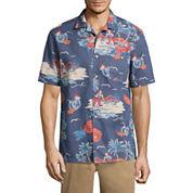 St. John's Bay Havana Button-Front Shirt