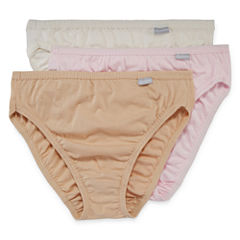 Jockey® Elance® 3-pk. Cotton French-Cut Panties - 1485 Plus