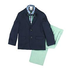 IZOD® 4-pc. Suit Set - Preschool Boys 4-7