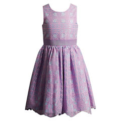 Young Land Sleeveless Party Dress - Preschool Girls