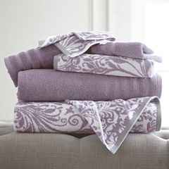 Pacific Coast Textiles Filigree Swirl 6-pc. Bath Towel Set