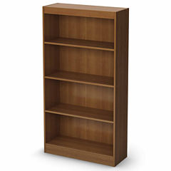 Axess 4-Shelf Bookcase