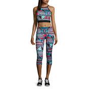 Xersion™ Print Midi Sports Bra, Anorak Reflective Jacket or Print Capris