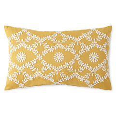 JCPenney Home™ Abby Floral Oblong Decorative Pillow