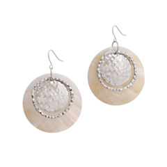 EL by Erica Lyons El By Erica Lyons Silver Over Brass Drop Earrings