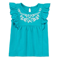Arizona Cap Sleeve Tunic Top - Baby Girls
