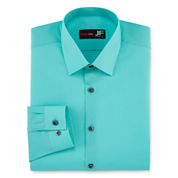 J.Ferrar Slim Fit Long Sleeve Dress Shirt