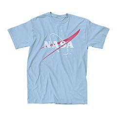 Mens NASA Logo Graphic Tee
