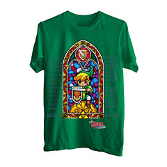Zelda™ Stained Glass Graphic T-Shirt