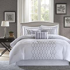 Madison Park Lillian Embroidered 7-pc. Comforter Set