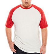 The Foundry Big & Tall Supply Co.™ Contrast Raglan Tee