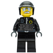 LEGO® Movie Kids Bad Cop Clock