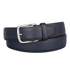 Dockers® Drop Edge Belt with Contrast Stitching
