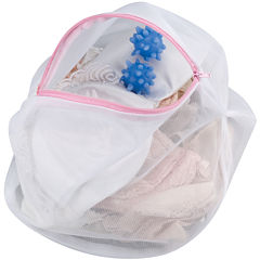 Household Essentials® Lingerie Bag + Wash Balls