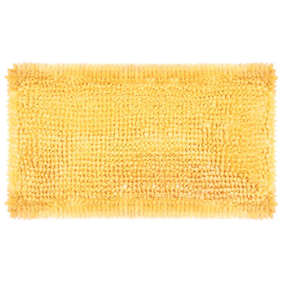 Marvelous Laura Ashley Butter Chenille Bath Rug Collection
