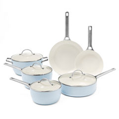 GreenPan Padova 10-pc. Hard Anodized Non-Stick Cookware Set