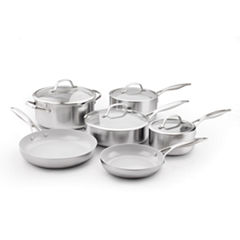 GreenPan Venice Pro 10-pc. Stainless Steel Cookware Set