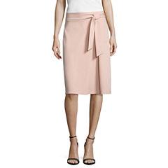 Worthington Belted Full Skirt