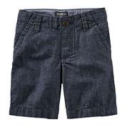 Oshkosh B'gosh® Cotton Shorts - Preschool Boys 4-7