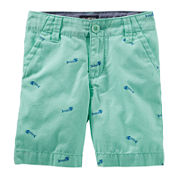 Oshkosh B'gosh® Cotton Shorts - Toddler Boys 2t-5t