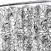 Park B. Smith® Cabbage Rose Watershed™ Shower Curtain
