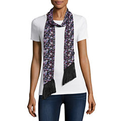 Mixit Floral Skinny Scarf