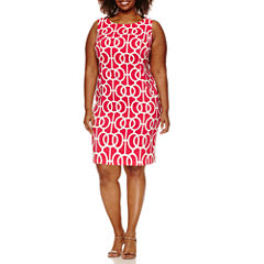 Alyx Sleeveless Sheath Dress-Plus