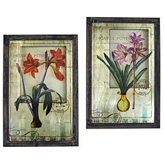 Framed French Floral Art Floral Print