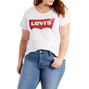Levi's Short Sleeve Crew Neck T-Shirt-Plus