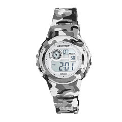 Armitron® Gray Camo Digital Chronograph Sport Watch
