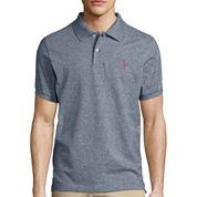 U.S. Polo Assn.® Short-Sleeve Heather Pique Polo