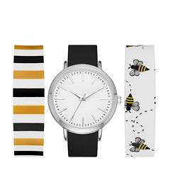 Mixit Womens Multicolor Strap Watch-Fmdjps089