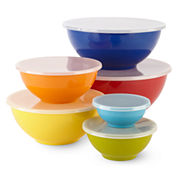 Cooks 12-pc. Mixing Bowl and Lid Set