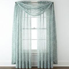 Liz Claiborne® Lisette Paisley Sheer Window Treatments