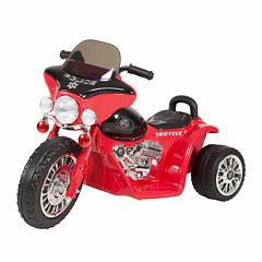 Police Chopper 3-Wheel Ride On Motorcycle