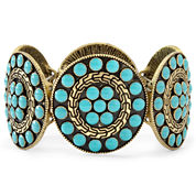 Arizona Blue Disc Stretch Bracelet