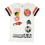 Looney Tunes Street Boom Short-Sleeve Cotton Tee