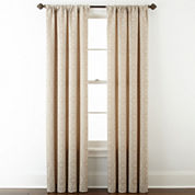 Royal Velvet® Giovanna Rod-Pocket/Back-Tab Curtain Panel