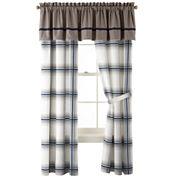 IZOD® Oxford Plaid 2-Pack Curtain Panels